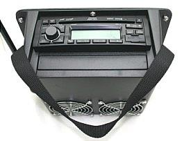 llv,portable radio,12 volt portable radio